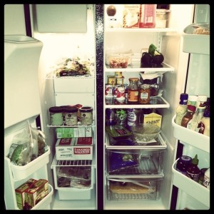 And I love my fridge/freezer.
